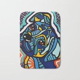 Rex Designer Dog Series Boxer Puppy Pet Colorful Art Bath Mat
