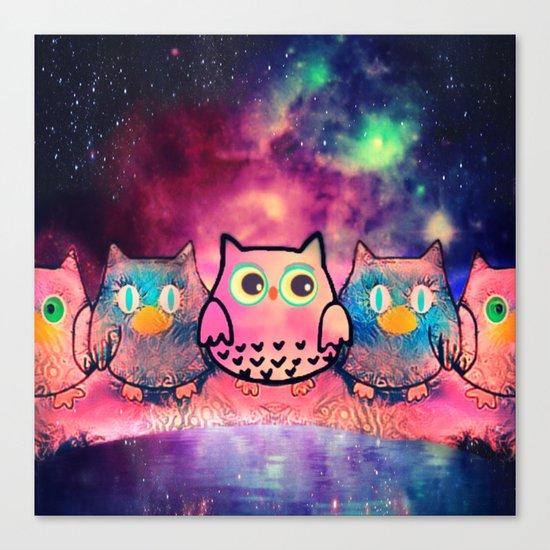 owl-259 Canvas Print