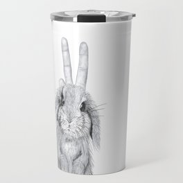 bunny ears! Travel Mug