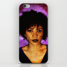 Jasika Nicole Portraits iPhone Skin