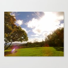 Atop a Mountain Canvas Print
