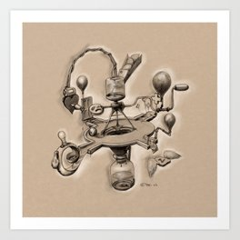 Bitter Resistance - Imagery Contraption Art Print