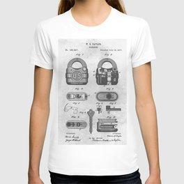 1877 Padlock T-shirt
