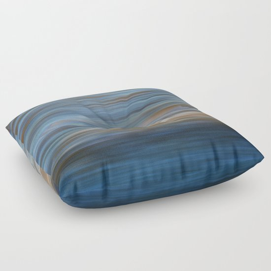 Ripples in water natural pattern Floor Pillow by Anna Lemos Society6