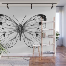 Cabbage butterfly Wall Mural