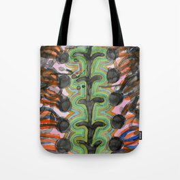 Exploding Seeds Tote Bag