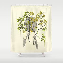 TREES NEVER LIED 01 Shower Curtain