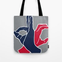 dc Tote Bags featuring DC by Jason Douglas Griffin