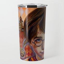Harry's First Quidditch Match Travel Mug