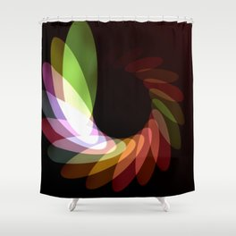 Elliptical Motion Shower Curtain