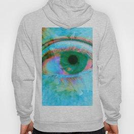 Eye in Bloom [Blue] Hoody
