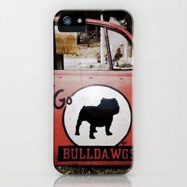 Go Bulldawgs iPhone Case