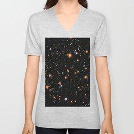 Hubble XDF Unisex V-Neck