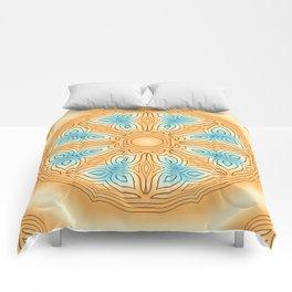 Sea Beach Summer Kaleidoscope Abstract Pattern Comforters