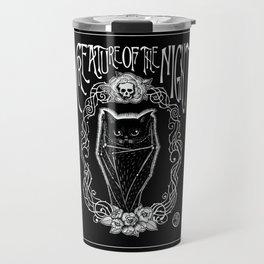 Creature Of The Night Travel Mug