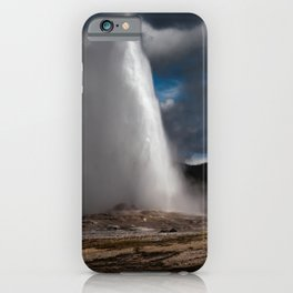 Old Faithful being Faithful iPhone Case