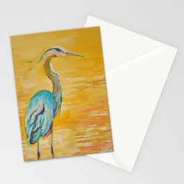 The Great Heron Stationery Cards
