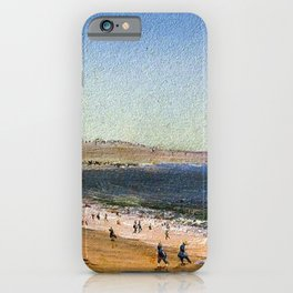 Easton's Beach, Newport, Rhode Island by Charles De Wolf Brownell iPhone Case
