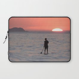 Sailing into the sunset Laptop Sleeve