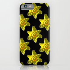 Daffodil On Black iPhone 6s Slim Case