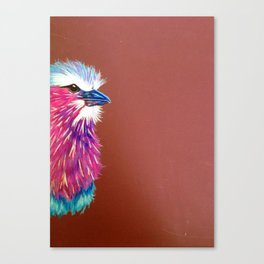 African Roller Bird Canvas Print