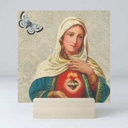 Santa María Mini Art Print