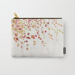 Vines Watercolor Carry-All Pouch
