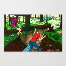 In Plain Sight Canvas Print