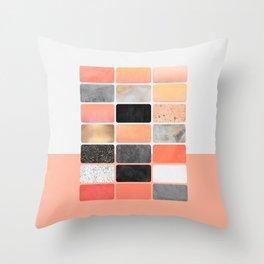 Color Board 1 Throw Pillow