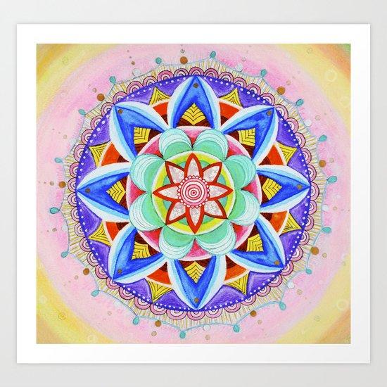 'We Are One' Mandala Art Print