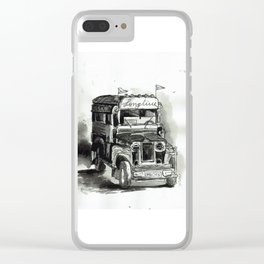 Jeepney Clear iPhone Case