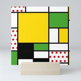Mondrian – Bycicle Mini Art Print