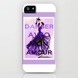 Dancing With My Love iPhone Case