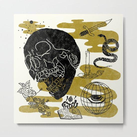 Planet Oblivion Metal Print