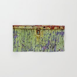 Cracked Vintage Paint Abstract Hand & Bath Towel