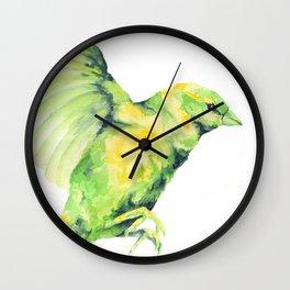 Bird, Sparrow Wall Clock
