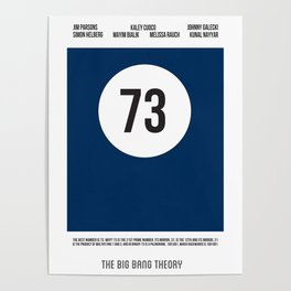 TBBT 73 Poster