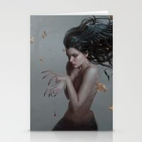 raven Stationery Cards featuring Raven by LauraSava