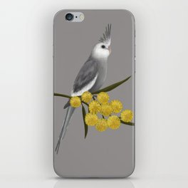 White Faced Cockatiel iPhone Skin