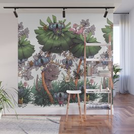 The Kiwis and Koalas Wall Mural