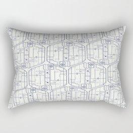 Abstract pattern 4 Rectangular Pillow