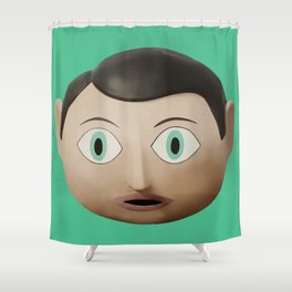 Just Frank Shower Curtain