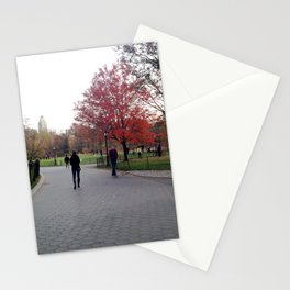 Fall in the Park Stationery Cards