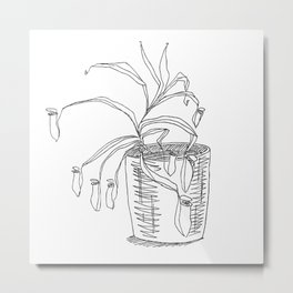 pitcher plant Metal Print