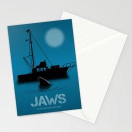 Jaws - Alternative Movie Poster Stationery Cards