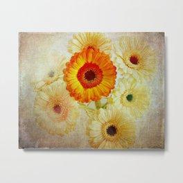 Flora Artistica No.01 Metal Print