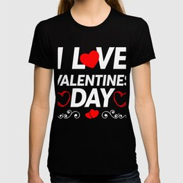 I Love Valentines Day Cupids Valentinus Hearts Valentines Day Gift T-shirt