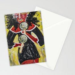 El retumbo de las maracas Stationery Cards