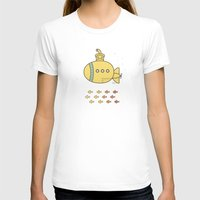yellow submarine T-shirts featuring Yellow Submarine by Brenda Figueroa Illustration