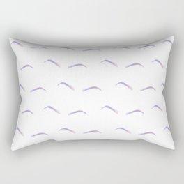 Unicorn Eyebrows Rectangular Pillow